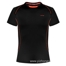 Moisture Wicking Dry Fit T Shirt Black
